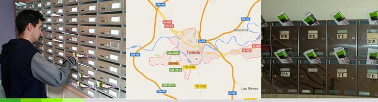 Buzoneo en Toledo